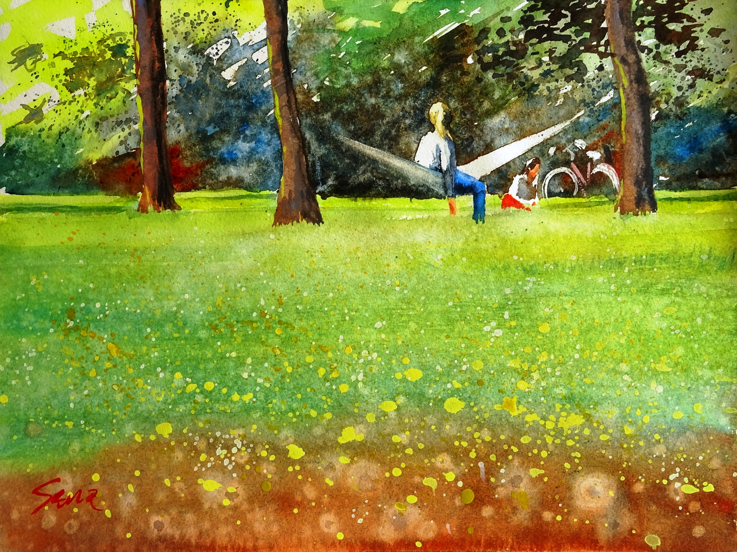 Nachmittag im Park